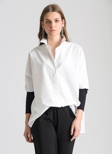 Ebru Günay Gömlek Beyaz